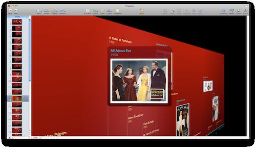Timeline 3D - Exporting a Keynote Presentation